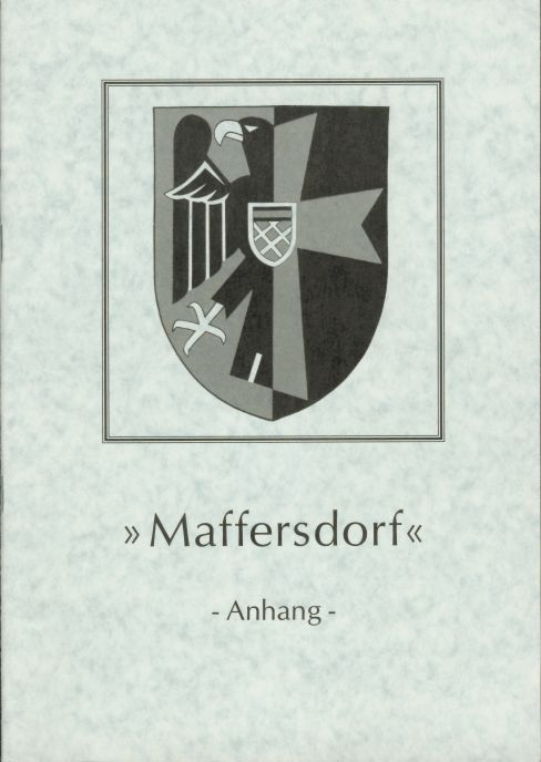 MAFFERSDORF - Vol. 5 - Supplement --- A GLANCE AT THE HISTORY
